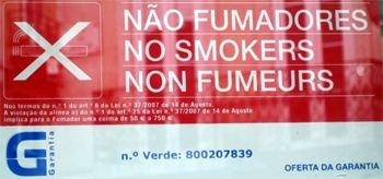 Rauchverbot Portugal
