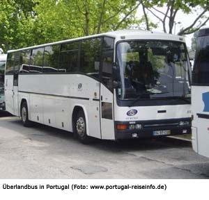 reisebus fernbus portugal