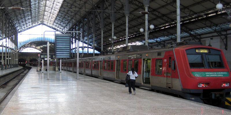 Bahnhof Rossio Hauptbahnhof Sintra