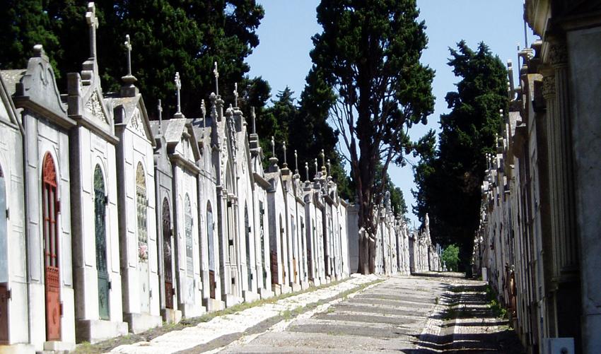 Sehenswürdigkeit Cemeterio dos Prazeres Friedhof aussergewöhlich