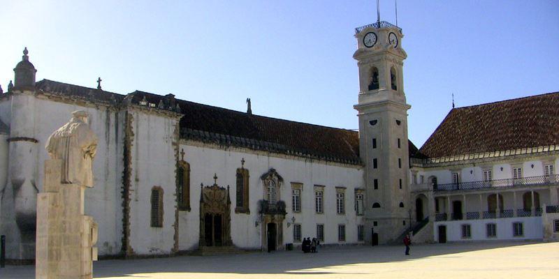Coimbra Portugal Sehenswürdigkeiten Universität
