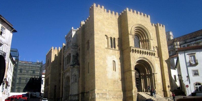 Coimbra Sehenswürdigkeit Kathedrale Festung