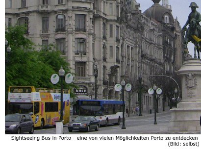 Sightseeing Sehenwürdigkeiten Porto