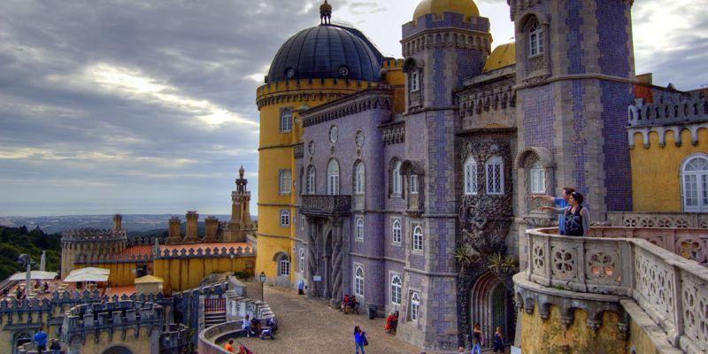 Sintra Palacio Pena Sightseeing Sehenswürdigkeit