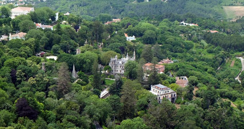 Sintra Lissabon Wandern Villa