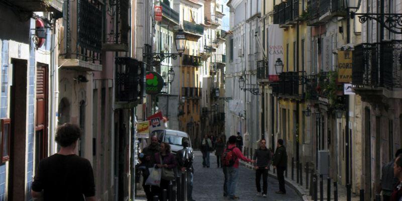 Bairro Alto Stadtviertel Lissabon