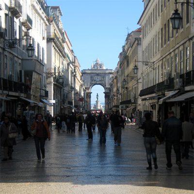 Stadtviertel Lissabon