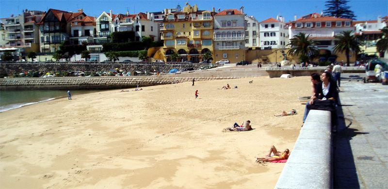 Strand Beach Umgebung Lissabon Cascais