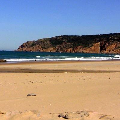 Strand Sintra Meer Atlantik
