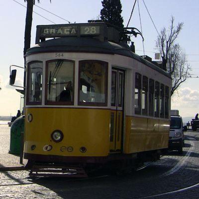 Straßenbahn 28 Electrico Lissabon