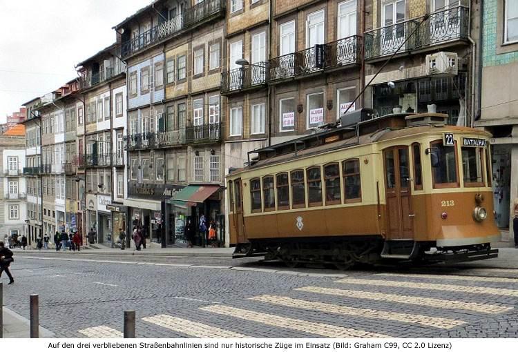 Straßenbahn Tram Porto