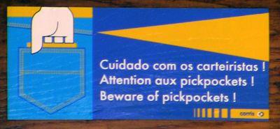 Taschendiebstahl Lissabon 28E Straßenbahn