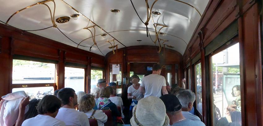 Straßenbahn Tram Porto historisch