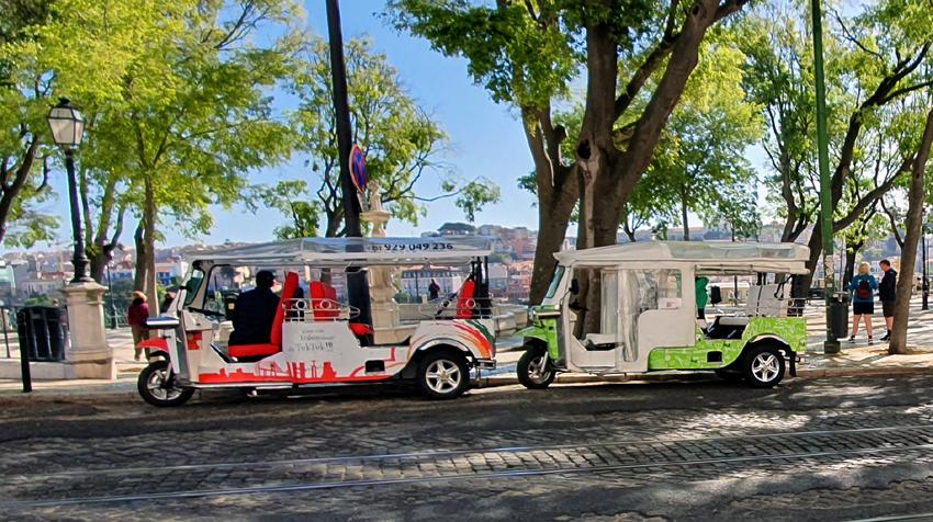 Tuk Tuk Autorikscha Lissabon Tour