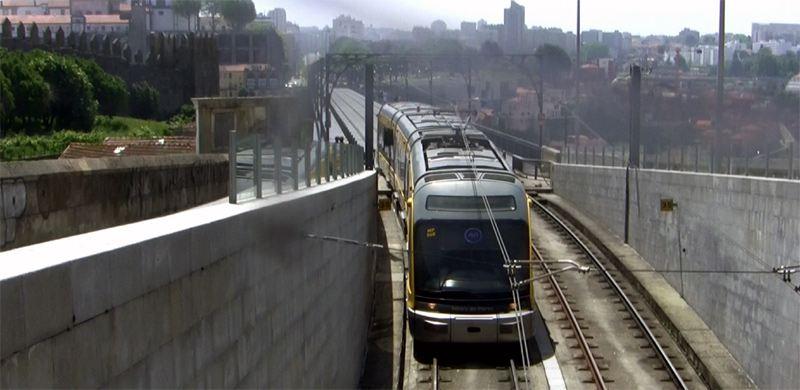 Metro Straßenbahn Tram Porto