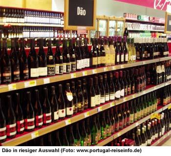 Wein Auswahl Portugal