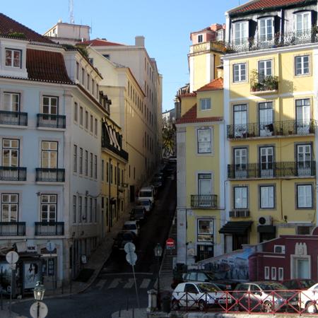 Zentrum Stadtviertel Baixa